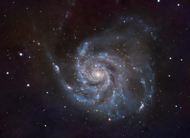 The Pinwheel Galaxy, Messier 101 in Ursa Major, some 21 million light-years away.