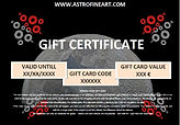 Gift Certificate Astrofineart