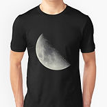 clothing with moon picture