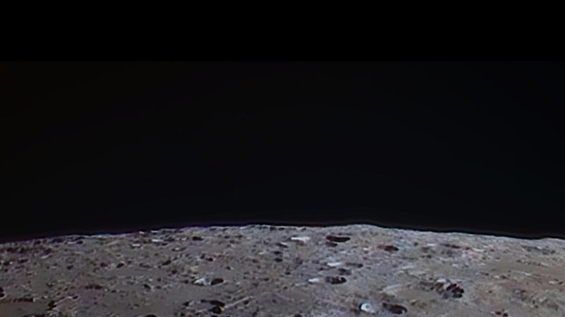 Orbiting the moon