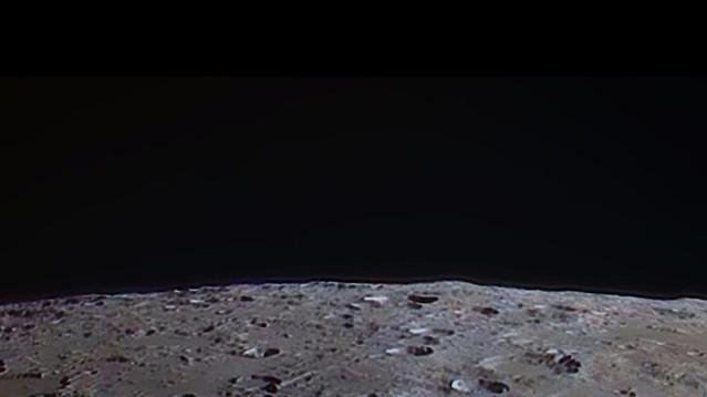 Orbiting the moon