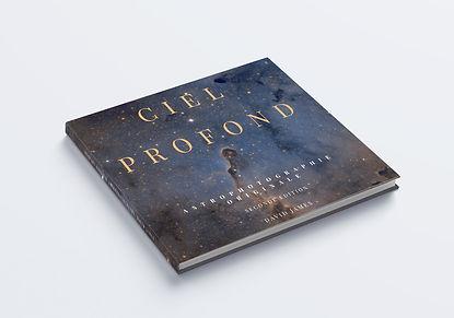 Ciel profond, livre astronomie couverture souple ou relié astrophotos, par David James