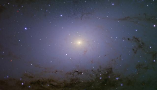 Andromeda galaxy core