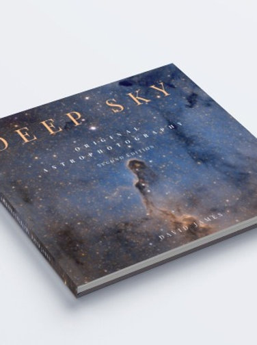 Deep sky astrophotography book (soft or hardcover)