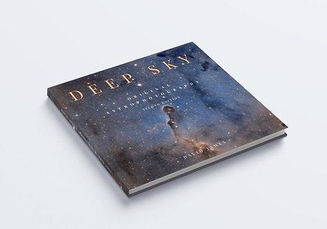 Livre d'astrophotographie du ciel profond (couverture souple ou rigide)