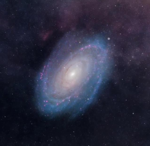 Bode´s Galaxy, Messier 81