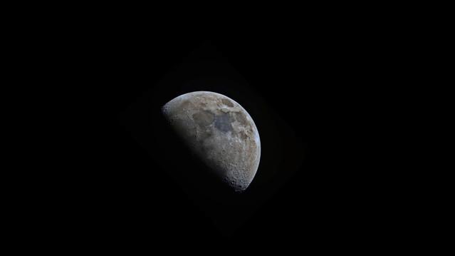 Départ de la lune