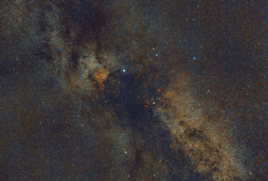 Image constellation du Cygne