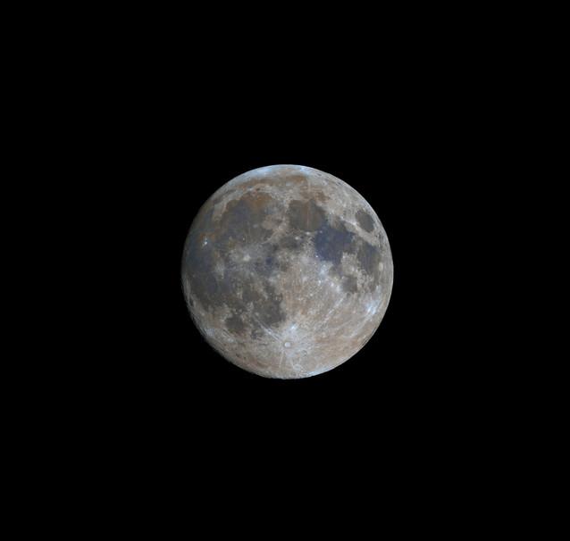 Waxing full moon