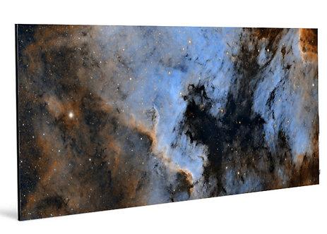 Premium Aluminium print. The North America Nebula