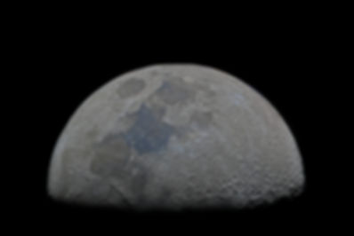 half moon first quarter in high resolution 1 pixel 1 kilometer