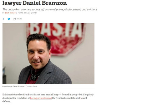 BASTA Executive Director Danny Bramzon Featured in Curbed