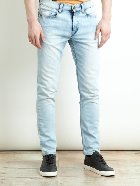 Slim Skinny fit light wash jeans eceedb16a