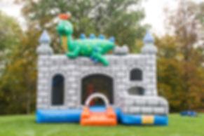 dragon combo, HRM MASCOTS & INFLTABLES, inflatable bouncer , bouncy castle, bouncy aste nova scotia