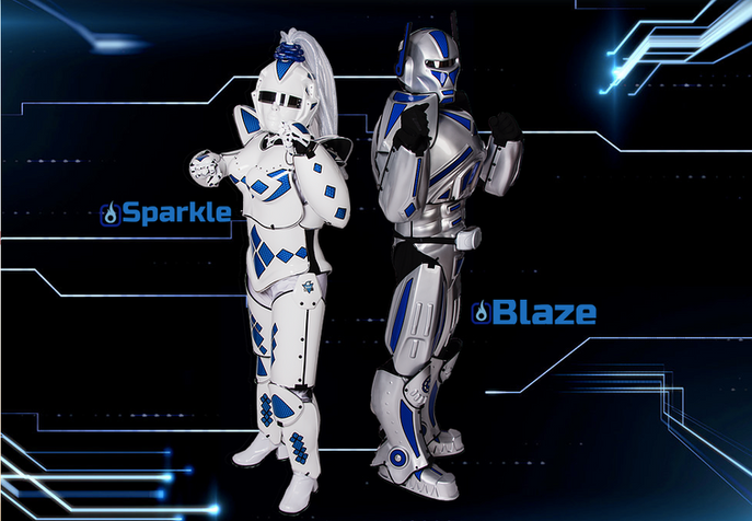 Blaze and Sparkle, HRM Mascots.png