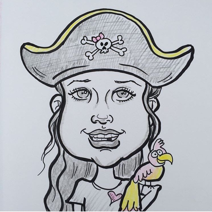 Caricature for halifax events