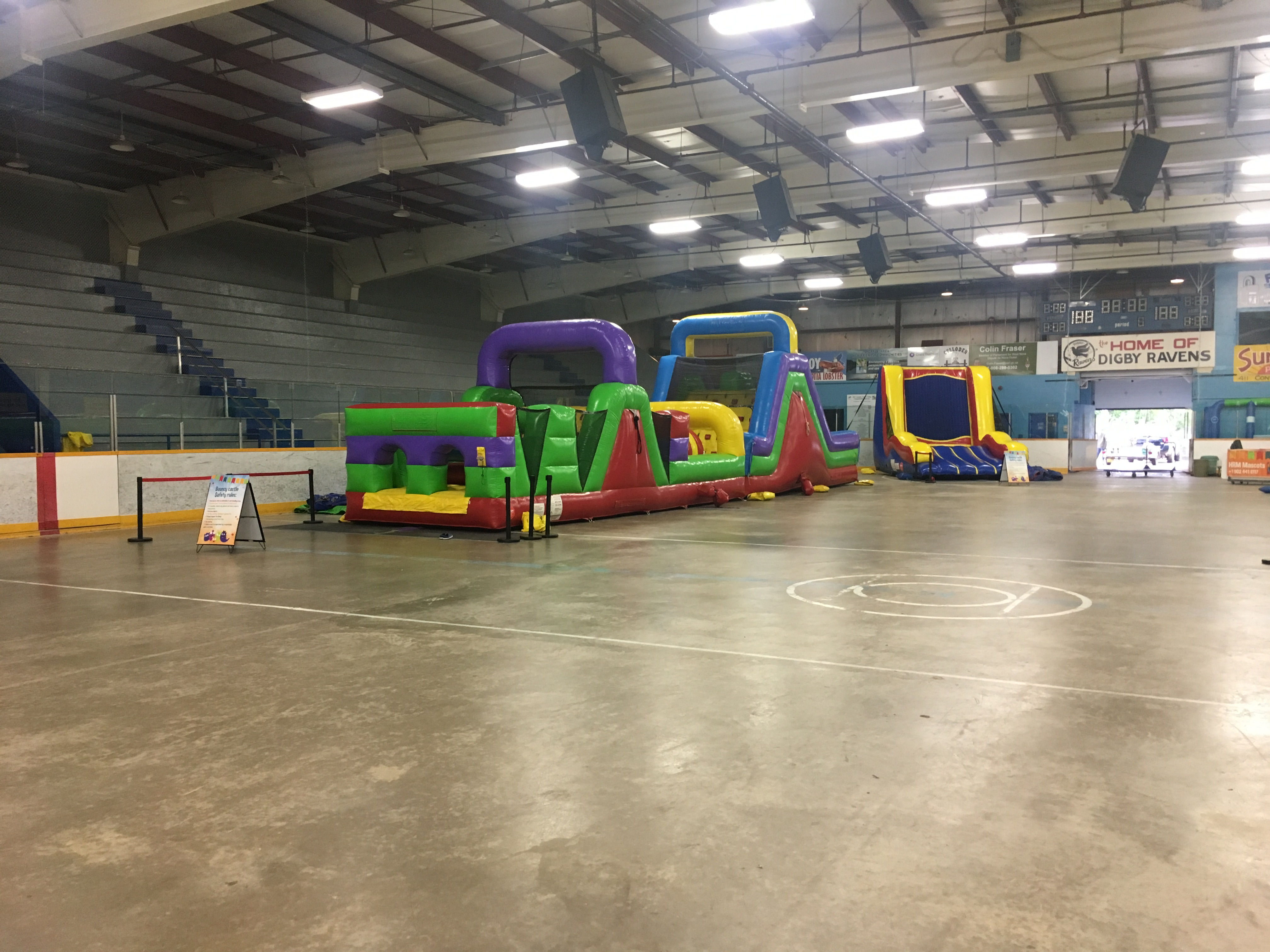 70 foot Obstacle course