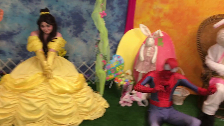 Spiderman, Bunny and Belle.m4v