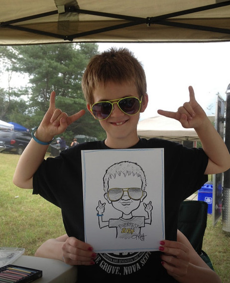 Caricature drawings at your corporate function