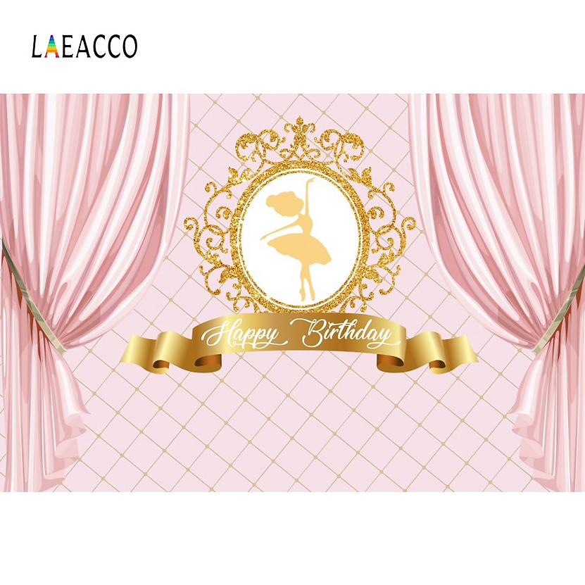 Princess-Backdrops-Pink-Curtain-Birthday