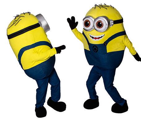 Minion mascot, acting job, mascot job