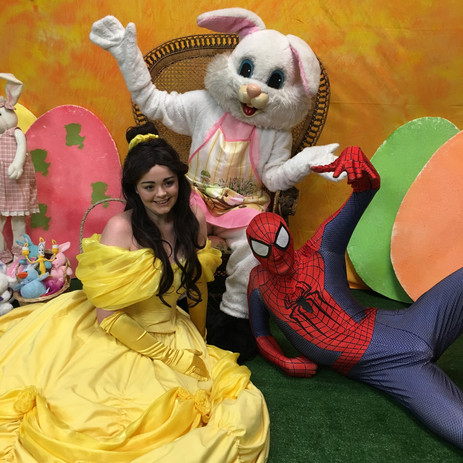 Easter bunny and his friends.jpg