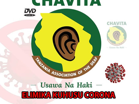 COVID-19 på tegnsprog– hjælp til døve i Tanzania