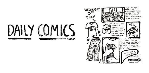 Kate Sharp Illustration daily comics kate.r.sharp