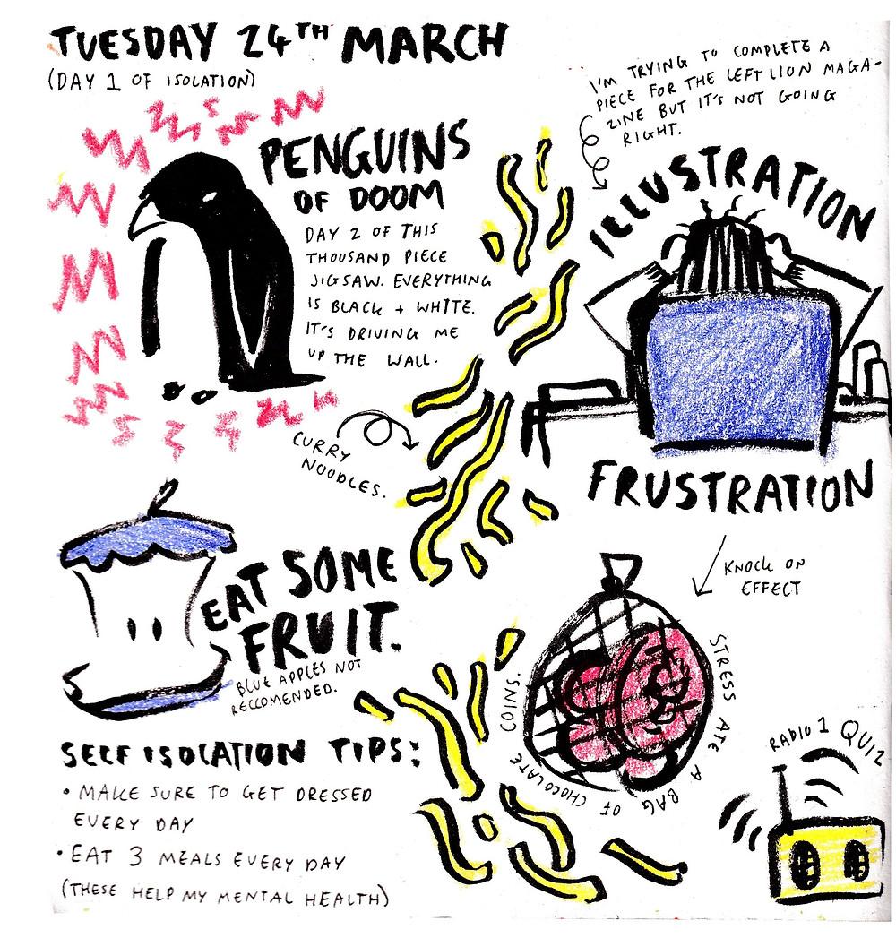 Kate Sharp Illustration Isolation Illustrations