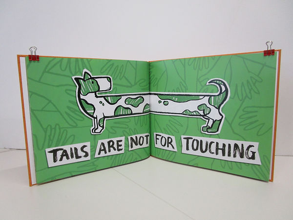 How to pet a dog Kate Sharp kate.r.sharp Illustrator Illustration sensory story