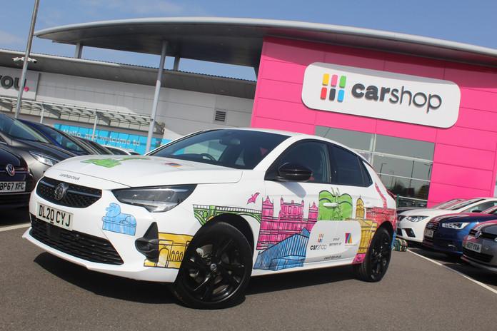 CarShop Nottingham Young Creative Awards Kate Sharp kate.r.sharp Illustration car wrap design