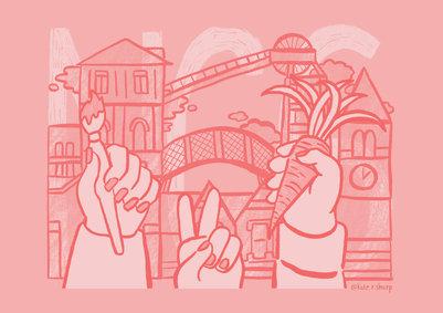 NG6 Nottingham Illustrator Kate Sharp kate.r.sharp Illustration