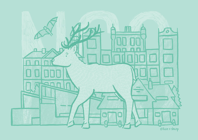 Nottingham postcode series kate.r.sharp Kate Sharp Illustration