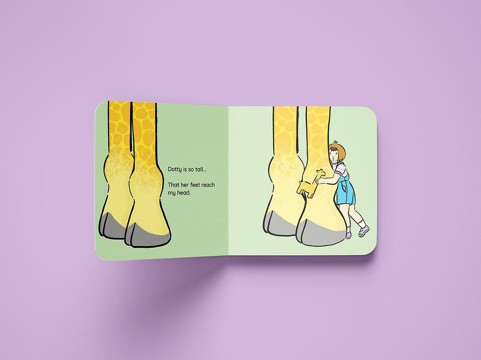 Children's board book illustration Kate Sharp kate.r.sharp Nottingham illustrator