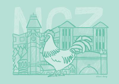 NG3 Nottingham Illustrator Kate Sharp kate.r.sharp Illustration artist