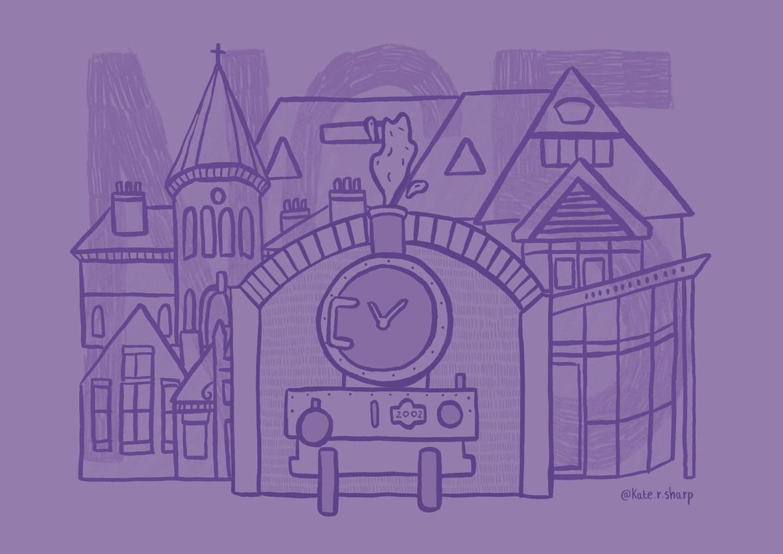 NG5 Nottingham Illustrator Kate Sharp kate.r.sharp Illustration