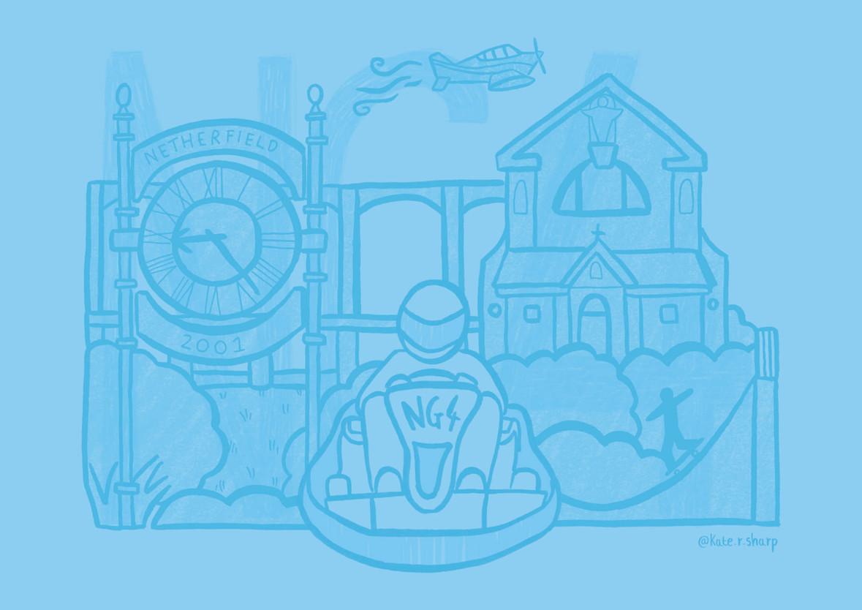 NG4 Nottingham Illustrator Kate Sharp kate.r.sharp Illustration artist