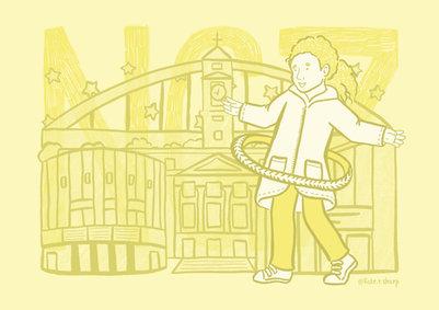 NG7 Nottingham Illustrator Kate Sharp kate.r.sharp Illustration