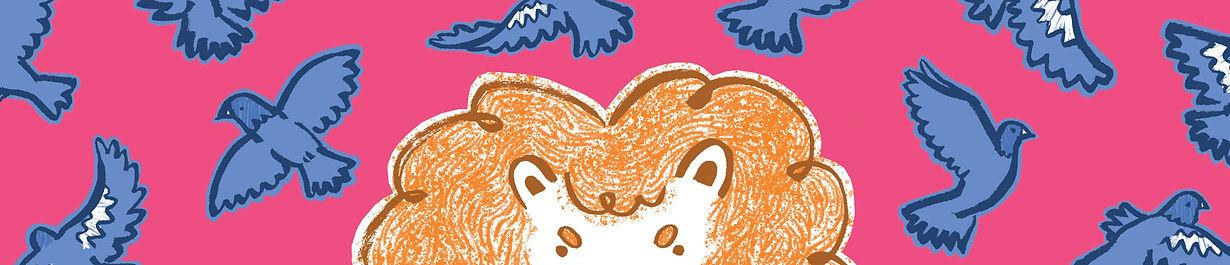kate.r.sharp lions hate pigeons illustration kate sharp