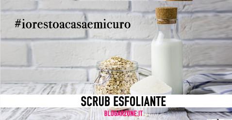 IO RESTO A CASA E MI CURO   SCRUB ESFOLIANTE