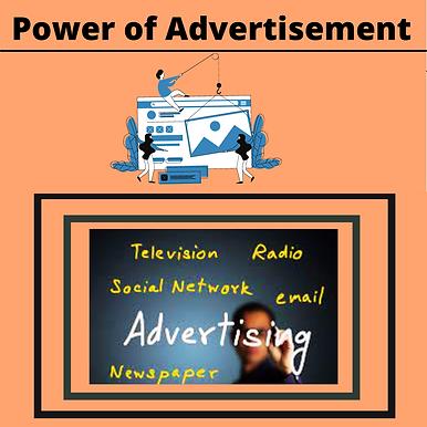 POWER OF ADVERTISEMENTS