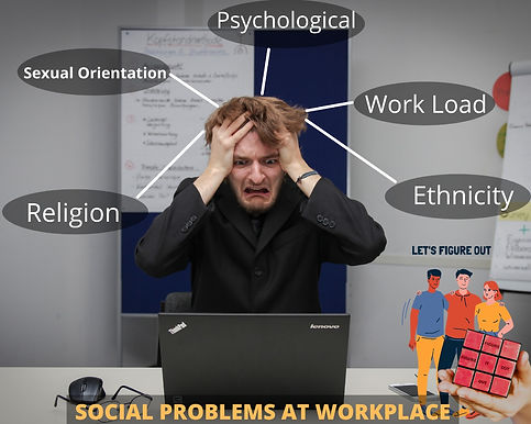 SOCIAL PROBLEMS AT WORKPLACE