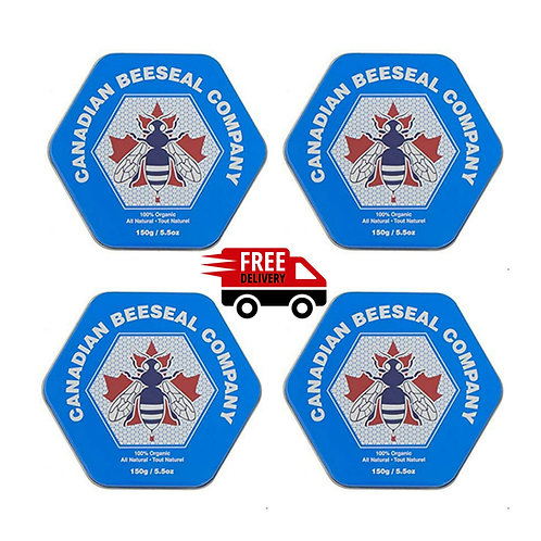 Canadian Beeseal - Pack de 4 x 150g/5.5oz
