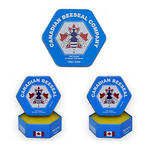 Canadian Beeseal - Pack de 2 x 75g/2oz + 1 de 150g/5.5oz