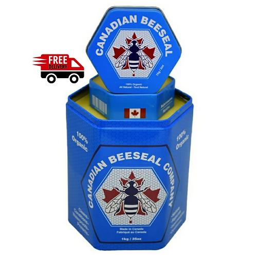 Canadian Beeseal - Format 1kg avec 1 de 75gr Gratuit