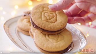 Video ricetta Biscotti alla Nutella