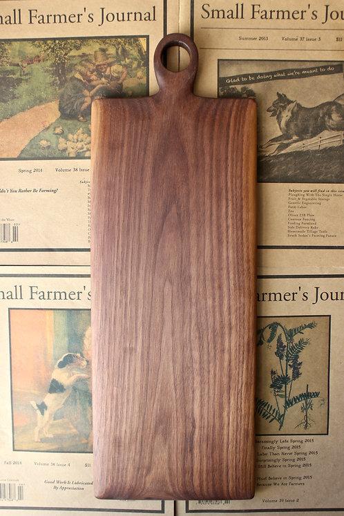 Large Walnut Board- Short Handle