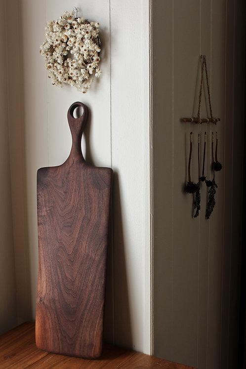 Large Asymmetrical Walnut Board