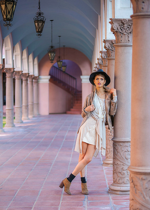 Downtown Tucson Fashion Photography