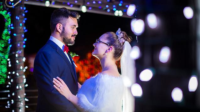 Zoo Lights Wedding Tucson